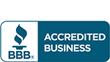 Accredited Buisness by the Better Business Bureau